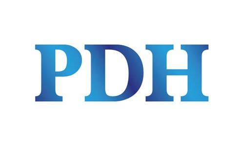 PDH brand logo